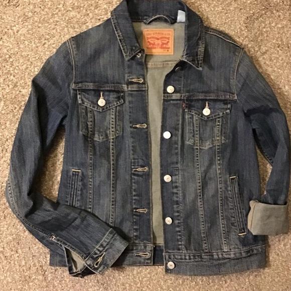 Levi Strauss & Co Jean Jacket Size Medium